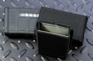 GTG & Bayonet pouch SpeedM4 for magazines compatible with AR15 Black