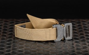 Bayonet 33mm OUTDOOR  belt soft BEIGE buckle Cobra 9kN